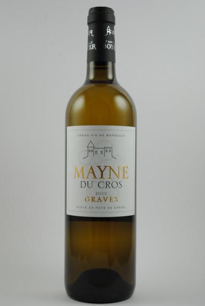 2015 Mayne du Cros Bordeaux Blanc